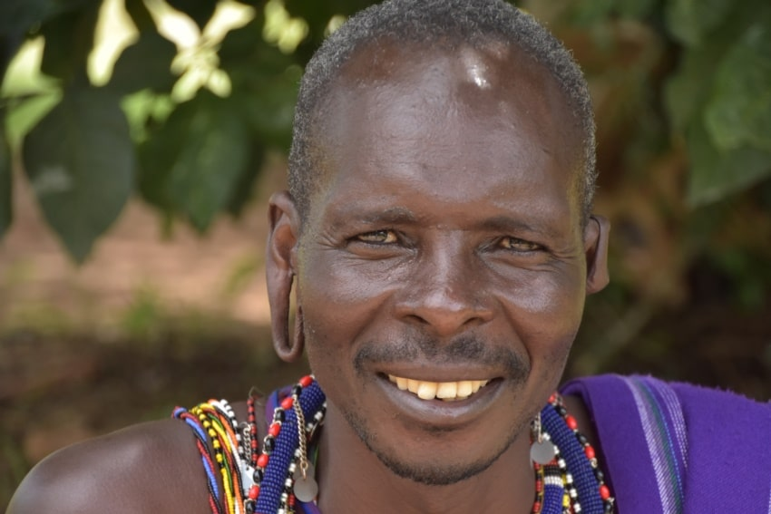 Maasai Krieger