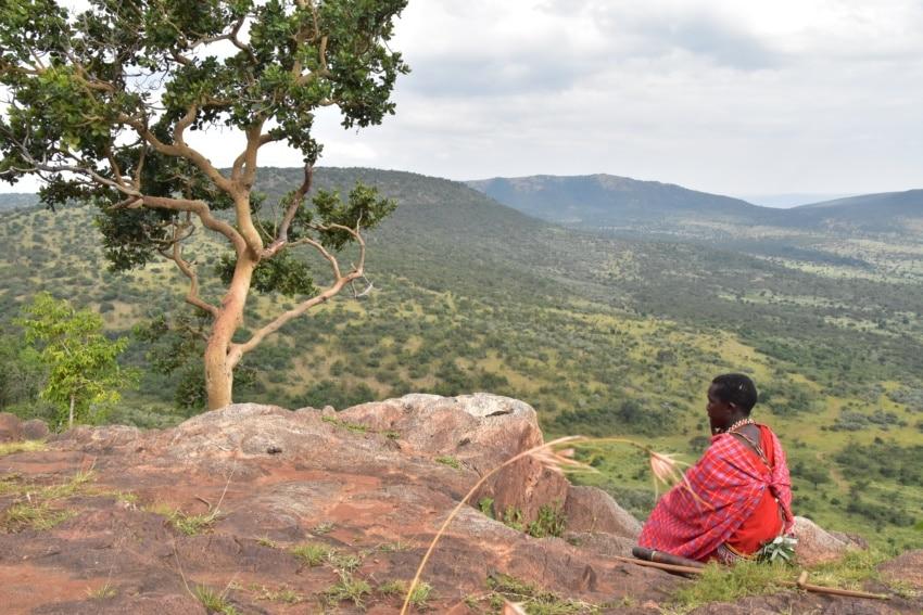 Grandioser Ausblick auf die Mara