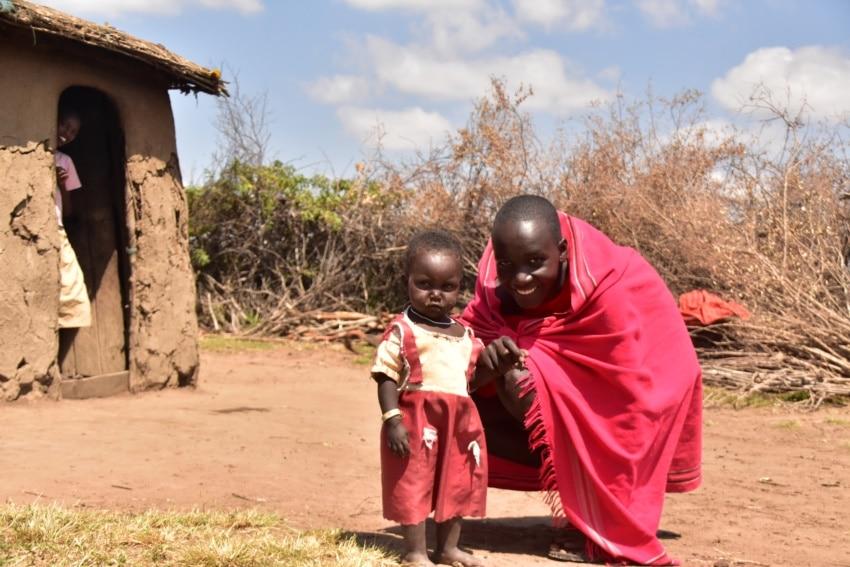 Zu Besuch im Maasai Dorf