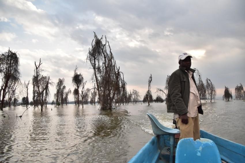 Bootsfahrt auf Lake Naivasha