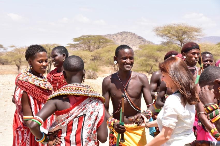 Begrüßungs Tanz der Samburu