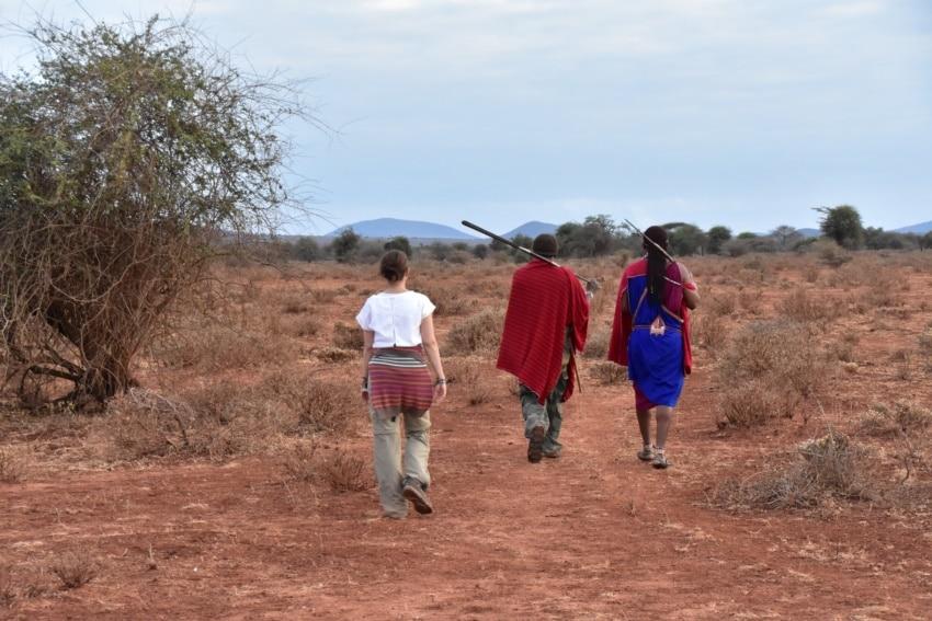 Walking Safari mit den Maasai