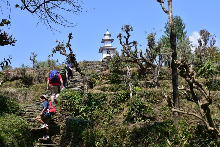 Wanderung nach Dhampus