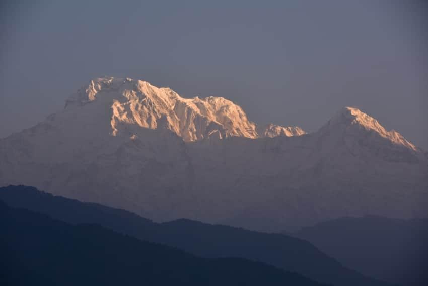 Sonnenaufgang über Annapurna