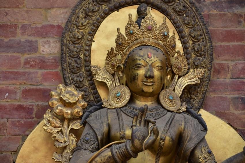 Göttin im Patan Palast