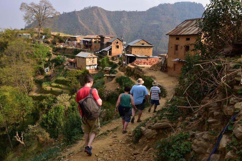 Wanderung in Balthali