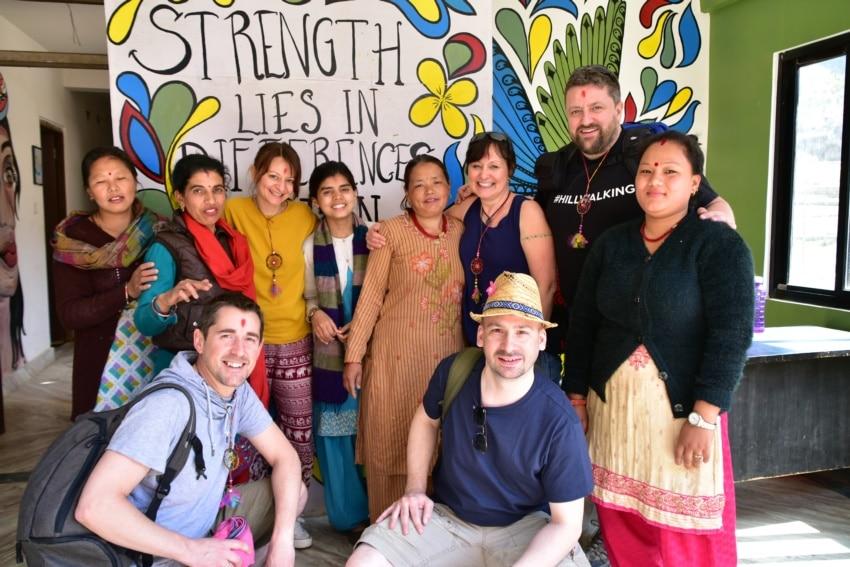 Besuch im Fair-Trade Projekt