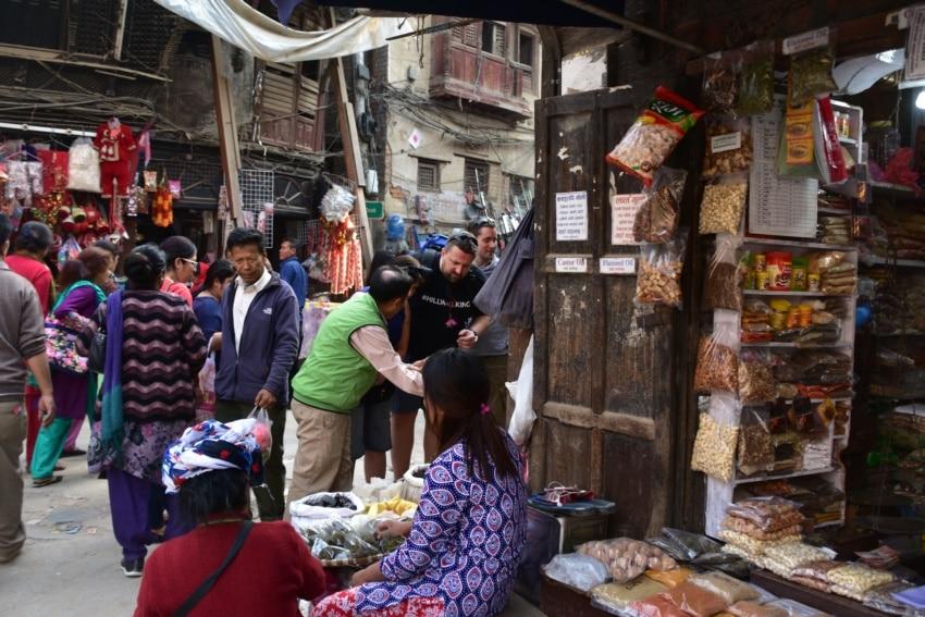 Kathmandu Markt