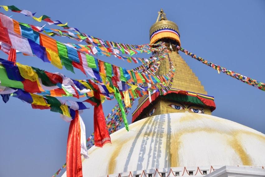 Die größte Stupa der Welt