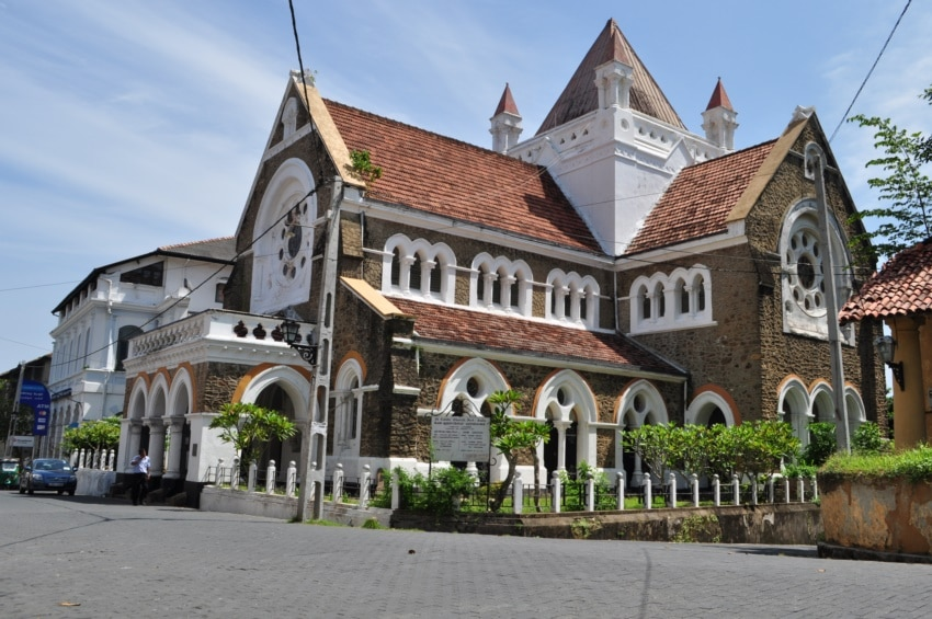 All Saints in Galle