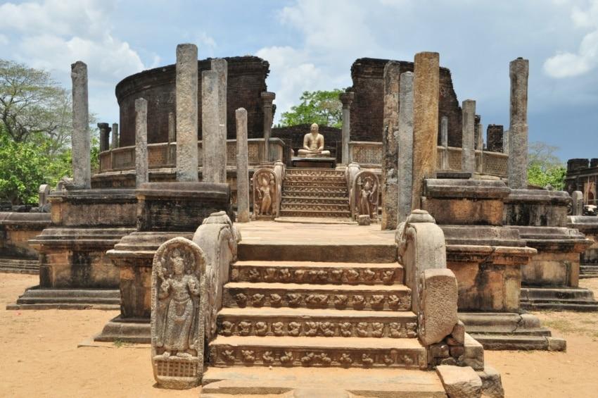 Polonnaruwa archäologische Stätte