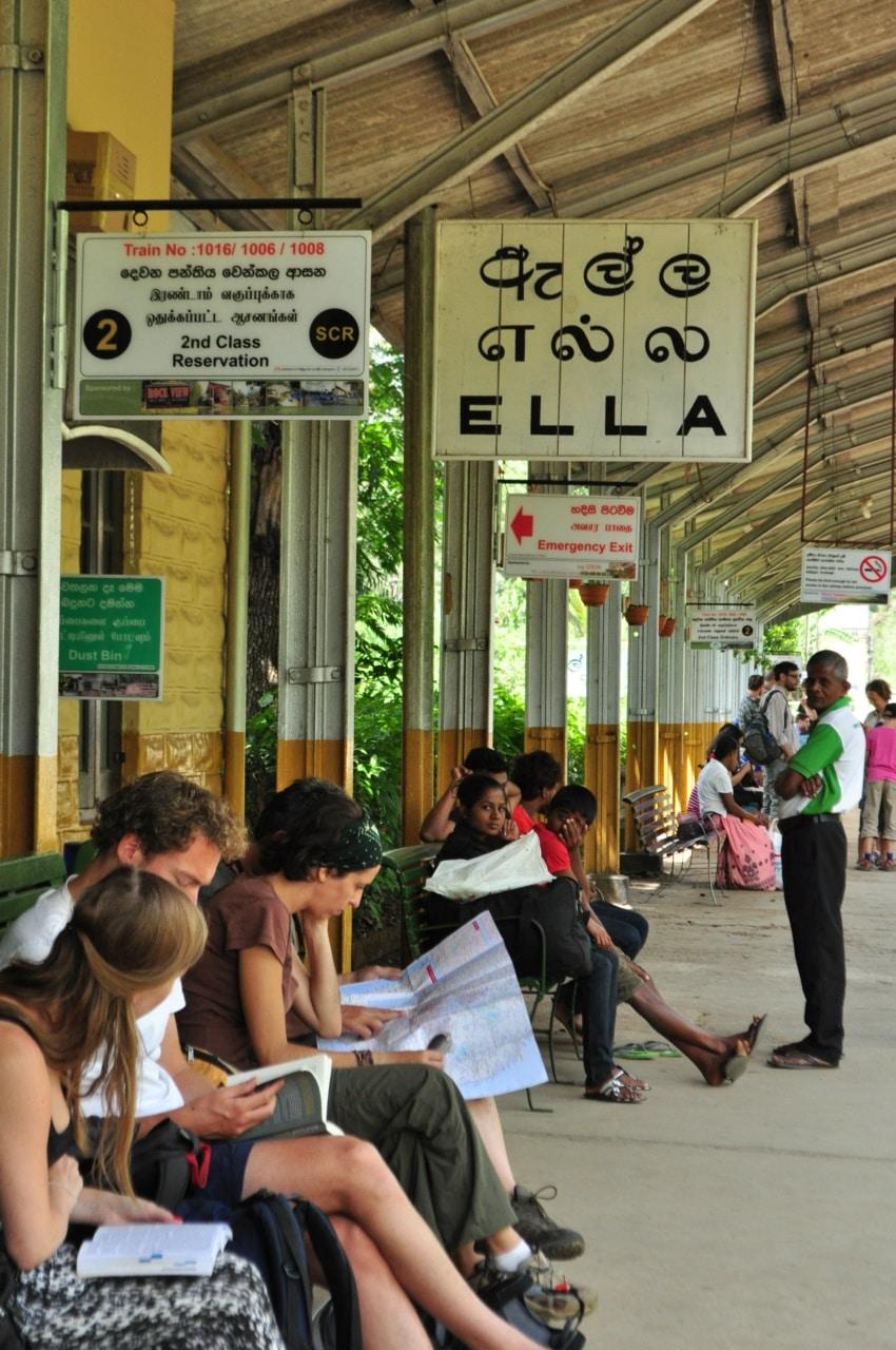 Bahnhof von Ella