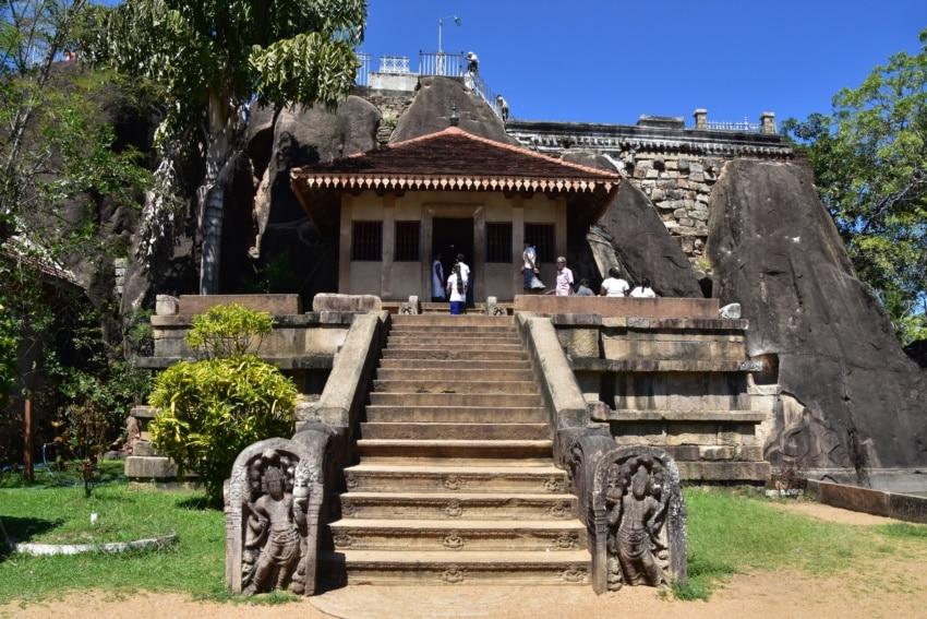 Isurumuniya Tempel
