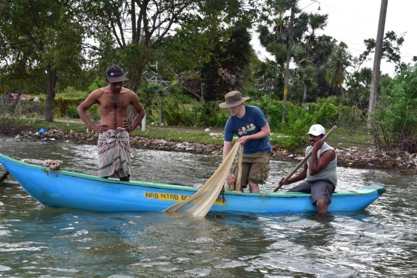 Ausflug mit den Fischern in Batticaloa