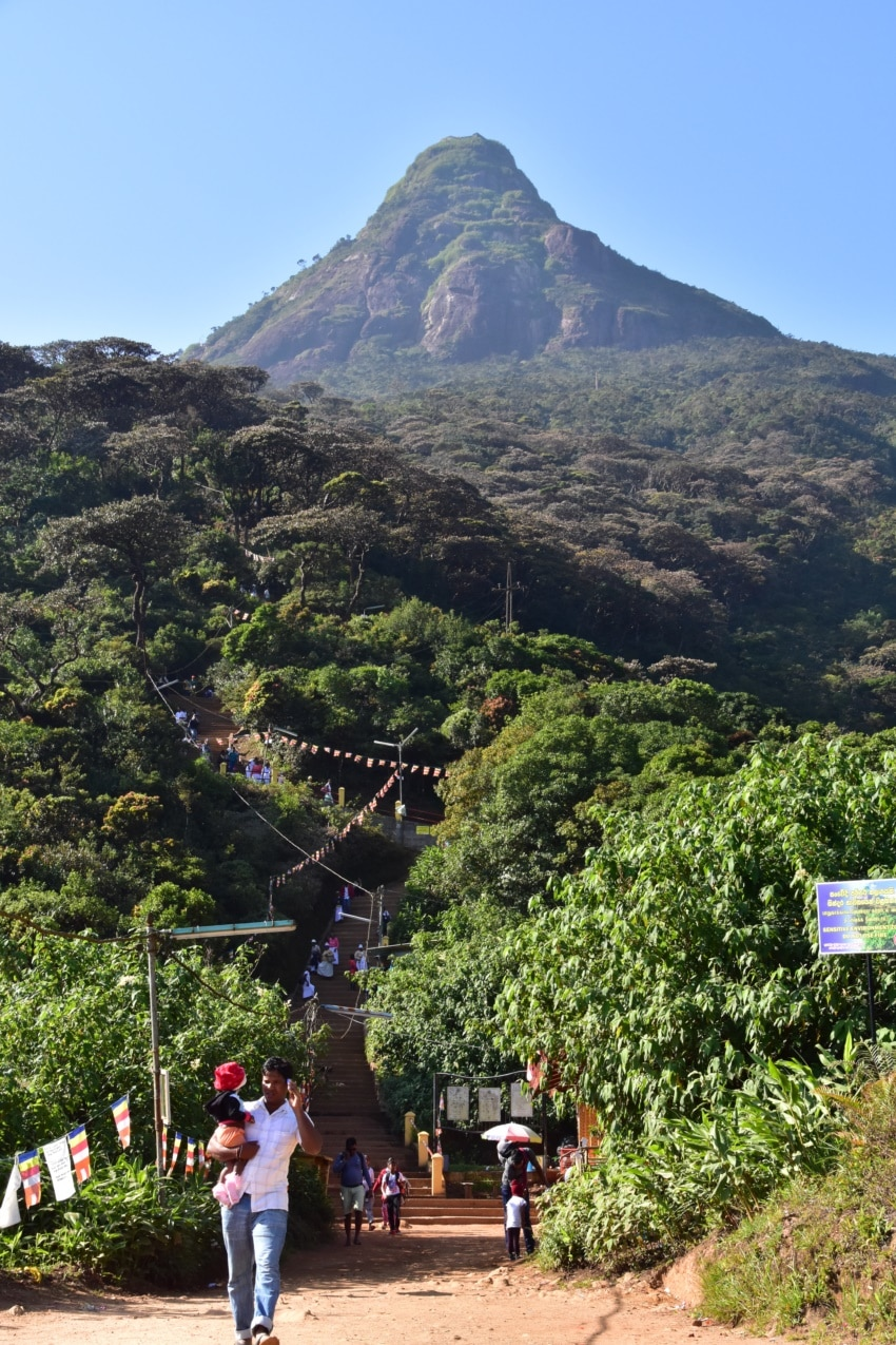 Sri Pada - der heilige Berg