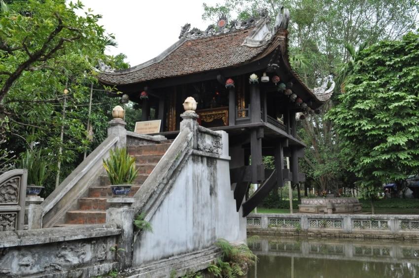 Ein-Säulen-Pagode Hanoi