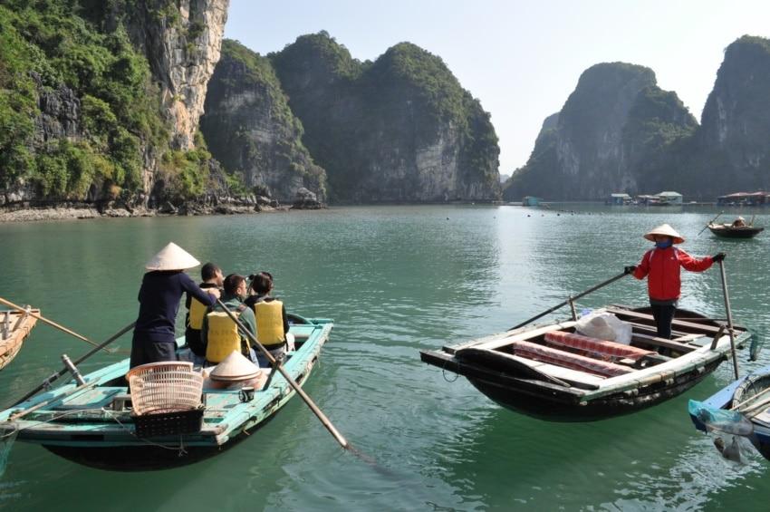 Boot zum Schwimmenden Dorf