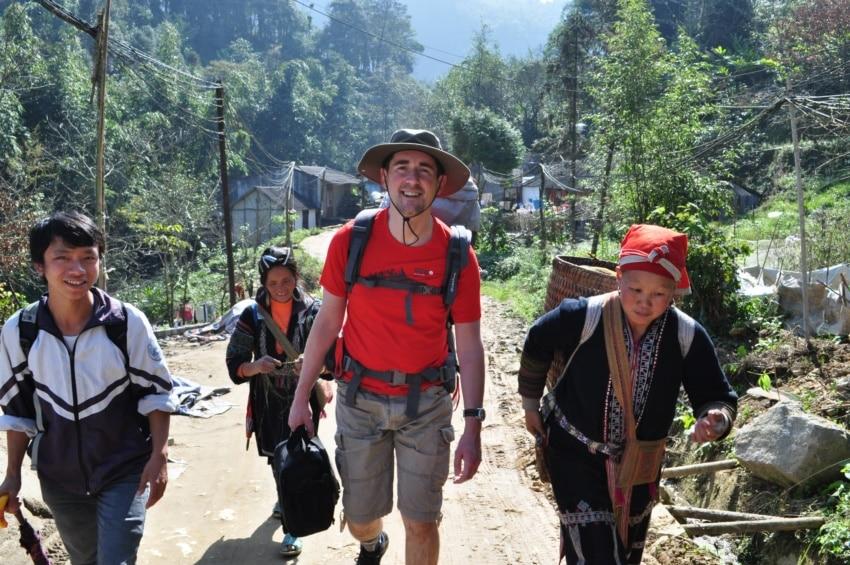 Wanderung mit den Hmong und Dao