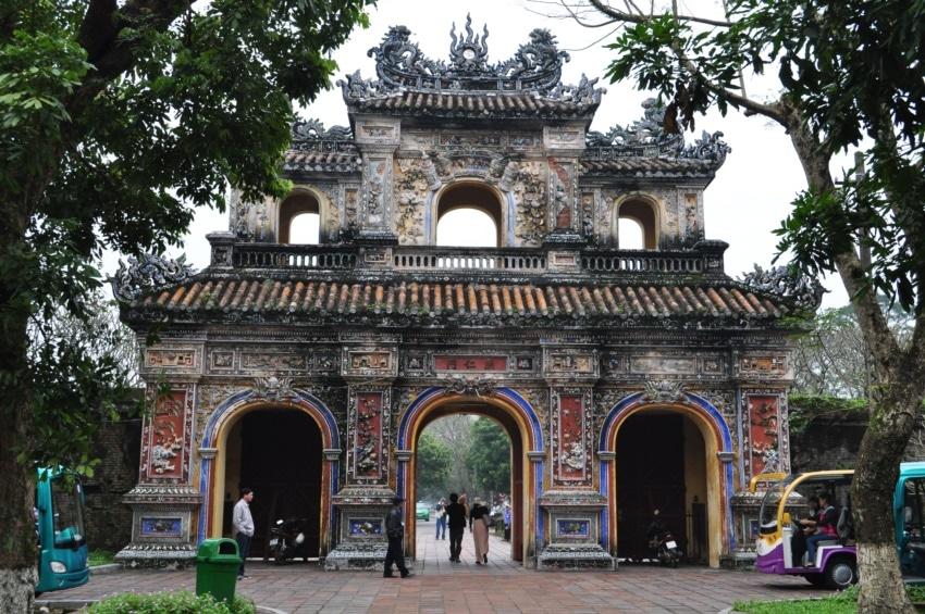 Ein Tor der Kaiserlichen Stadt
