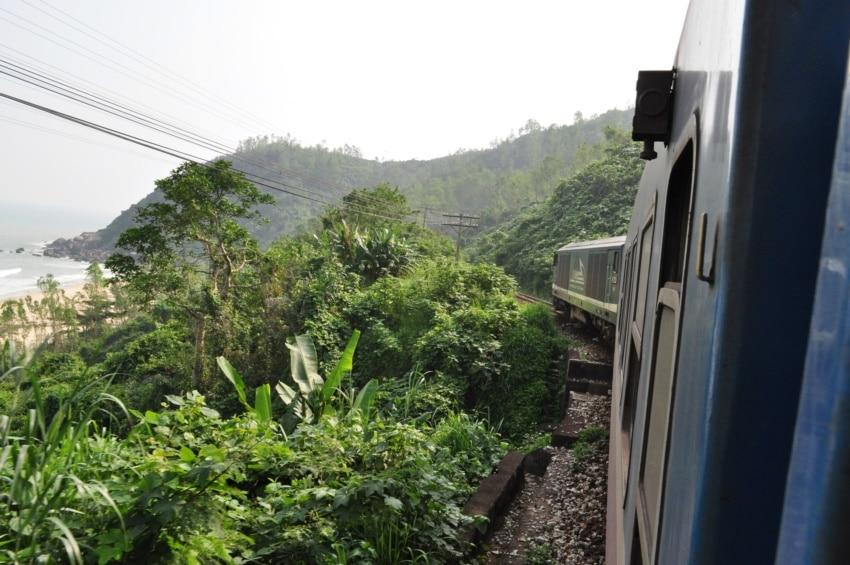 Zugfahrt von Hue nach Danang