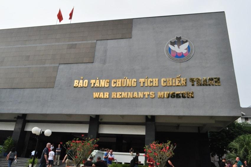 Museum der Kriegsgeschichte in Saigon