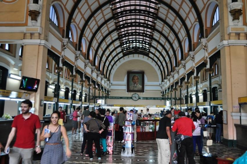Alte Post in Saigon